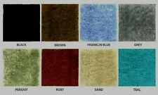CUT-TO-FIT BATHROOM WALL TO WALL CARPET-RUGS-3 COLORS !! SIZE = 5 X 6   K