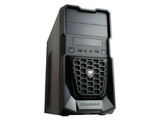 Cougar Spike Micro ATX PC Gaming Case USB 3.0 Black Vented Side Panel