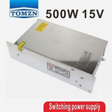 500W 15V 32A 220V INPUT Single Output Switching power supply