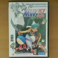 Monster World 4 MW4 Mega Drive MD Genesis Sega Used Japan Action Boxed Tested