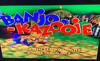 ✅ Banjo Kazooie Nintendo 64 N64 Video Game Cartridge Super Fun Retro Rare 🐻