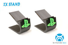 PS4 PlayStation 4 Controller display stand - support with coloured logo 2 Pack