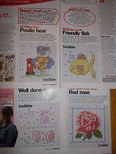 ** Mouseloft Mini Cross Stitch Kit-Tiddler Collection #1 ** BUY 3-15/% di sconto!!