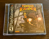 Tomb Raider Chronicles PlayStation 1 2000 PS1 CIB Complete Tested Free Fast Ship