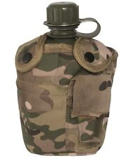 Mil-Tec Multitarn US Army style water bottle pouch & mug canteen MTP / Multicam