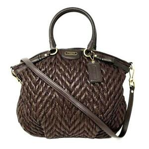 Coach 70th Anniversary Limited Edition  Madison Satchel Shoulder Bag 18637