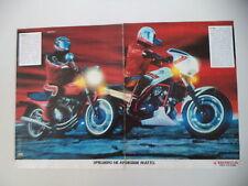 advertising Pubblicità 1983 MOTO HONDA CBX 400 F/VF 400