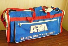 "ATA Taekwondo Karate/Martial Arts 25"" Sparring Gear Duffle Bag, EUC"