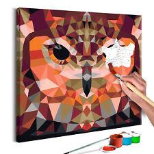 Malen nach Zahlen Erwachsene Wandbild Malset mit Pinsel Malvorlagen n-A-0603-d-a