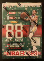 2018-19 NBA HOOPS HOLIDAY BLASTER BOX - Find a PSA 10 Luka Doncic RC Snowflake?
