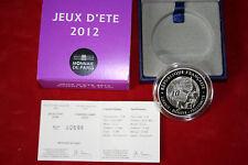 Monnaie de paris avec coffret- JEU D'ETE JUDO 2012 10€ argent...