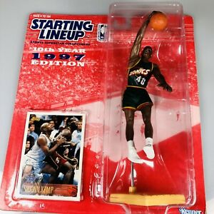 Kenner 1997 Starting Lineup Shawn Kemp SONICS Basketball Figure Vintage