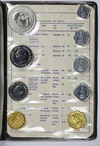 1969 Republic of India Proof Coins Set Rupee Paise Paisa Original Packing Bombay