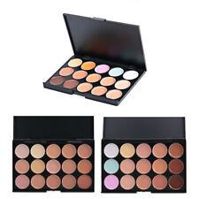 15 Color Beauty Cream Face Concealer Highlight Contour Foundation Palette Makeup