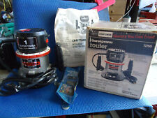 CRAFTSMAN #91755 ROUTER 1 HP IN BOX WITH MANUEL &TOOL