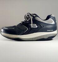 Skechers Sport Shape Ups Walking Toning Shoes Mens US 10.5 11 Black 52004 Euc