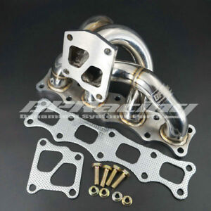 Tubular Manifold For Mitsubishi Lancer Evolution 10 / X 4B11 Turbo 2008 & 2011