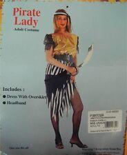 Vestito Costume Carnevale adulti donna ragazza PIRATA LADY Taglia unica R13