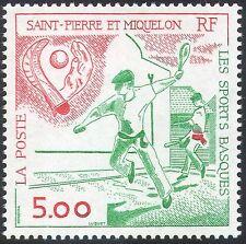 St Pierre Miquelon 1999 Basque Sports/Games/Pelota 1v (n41209)