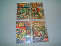 TALES OF SUSPENSE Iron Man Captain America 12 cents # 62 66 68 69 Silver 12 Cent
