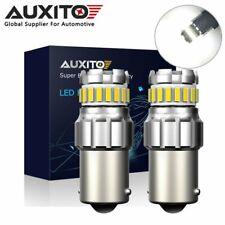 AUXITO 1156 BA15S 7506 LED Reverse Brake Signal Parking Light Bulb 6500K Canbus
