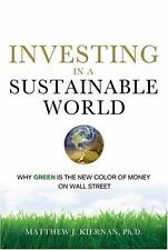 Investing in a Sustainable World: Why GREEN Is the New Color of Money -ExLibrary