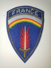 K0478 1950s Us Army Europe France Shoulder Patch Wa1