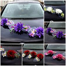 3 St. Autoschmuck Blumen Blüten Girlanden Hochzeit Autodeko Kunstblume NEU LA 5
