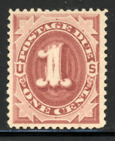 SCOTT J22 1891 1 CENT POSTAGE DUE ISSUE MNH OG VF CAT $85!