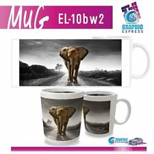 MUG ELEPHANT FELIN  - GRADE A - IMPRESSION PAR SUBLIMATION - EL10BW2