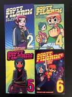 Scott Pilgrim Vol. 2,4,5,6 Paperback Manga Set Oni Press 2004-2010