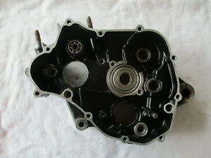 Yamaha Original  Motorgehäuse links YZ125  Bj.  83-85 , Nr. 24X - 15111 - 00