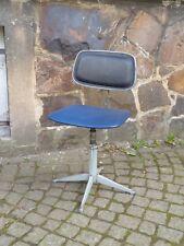 sixties Bürostuhl 60er Jahre DDR Design, Ergonomische Formlehre, Industrie Stuhl