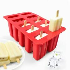 New Silicone Ice Cream Tubs Eco-Friendly Popsicle Mold Kitchen Gadgets Dining