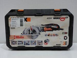 WORX WX429 Circular Saw 400W WORXSAW XL with Carry Case (No Blades)