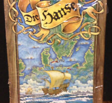 Tom Schoeps Die Hanse German Strategy Board Game English Instructions Included