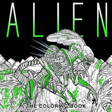 Alien Adult Colouring Book Facehugger Space Monsters Sci Fi Ripley Ridley Scott