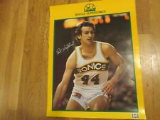 1980-81 PAUL WESTPHAL SEATTLE SUPERSONICS POSTER