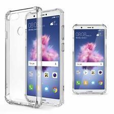Funda antichoque antigolpes silicona dura Huawei P Smart FIG-LX1 transparente