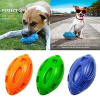 Pet Dog Squeak Rubber Dog Toy Dog Chew Ball Indestructible Christmas Pet Ball
