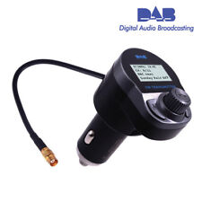 Car DAB + Bluetooth Digital Radio USB Adapter Receiver FM Transmiter TF SP