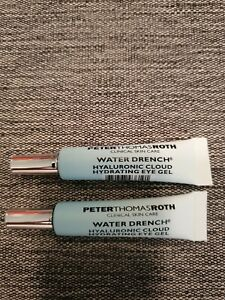 X2 PETER THOMAS ROTH Water Drench Hyaluronic Cloud Hydrating Eye Gel 0.1 oz.