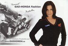 Prospekt 2004 Gas Honda Fashion Broschüre T-Shirts Mützen Westen Kleidung
