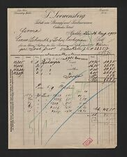 APOLDA, facture 1904, P. Loewensberg Chaussette-Imagination étaient-usine