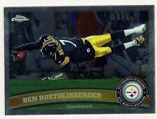 2011 Topps Chrome Football #120 Ben Roethlisberger Pittsburgh Steelers NMT