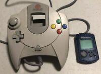 Official OEM Sega Dreamcast Controller & VMU a3L