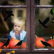Halloween crow window sticker pack | Halloween window sticker