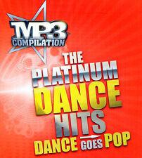 Mp3 Compilation - The Platinum Dance Hits - Dance Goes Pop CD 2009 Mint