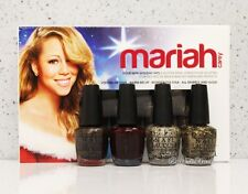 OPI MARIAH CAREY HOLIDAY 2013 Mini Kit 4 pk Pack Nail Polish Minis Set 4pc HLE29