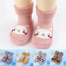Baby Hausschuhe Socken Kinder Mädchen Jungen Kleinkind Anti-Rutsch Baumwolle DE